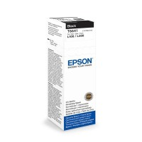 Epson Tusz T6641 BLACK  70ml butelka do L100|110|200|210|300|355|550