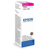 Epson Tusz T6643 MAGENTA  70ml butelka do L100|110|200|210|300|355|550