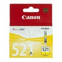 CANON Tusz Żółty CLI521Y=CLI521Y=2936B001, 350 str., 9 ml