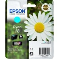 Epson Tusz T1802 Błękitny 3.3ml do XP30|102|20x|30x|40x