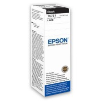 Epson Tusz T6731 BLACK  70ml butelka do L800