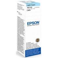 Epson Tusz T6735 Light CYAN 70ml butelka do L800