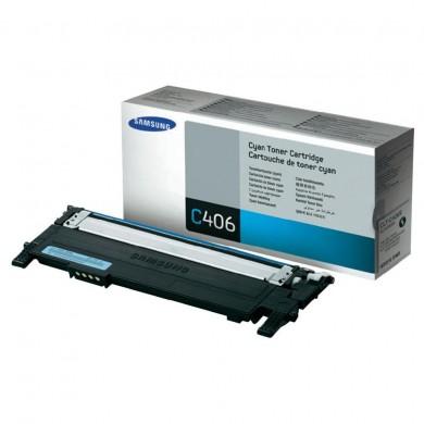 Samsung Toner CLP36x CLX330x błękitny CLTC406S