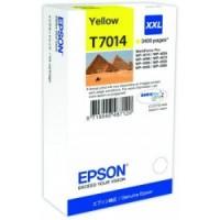 Epson Tusz T7014 YELLOW XXL do serii WorkForce WP4000|4500 (3.4k)