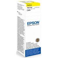 Epson Tusz T6734 YELLOW  70ml butelka do L800