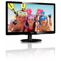 Philips 19.53 200V4QSBR LED MVA DVI Czarny
