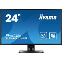IIYAMA 24 X2481HSB1 SLIM AMVA+, HDMI, DVI, 6 ms, Głośniki