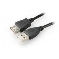 NATEC Przedłużacz USB 2.0 AMAF 1,8M czarny EXTREME MEDIA