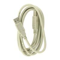 4world Kabel USB 2.0 | AB M|M | 3,0m | szary