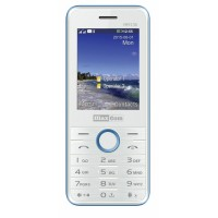 Maxcom MM 136 Dual SIM Telefon GSM BiałoNiebieski