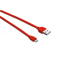 Trust UrbanRevolt Flat MicroUSB Cable 1m  red