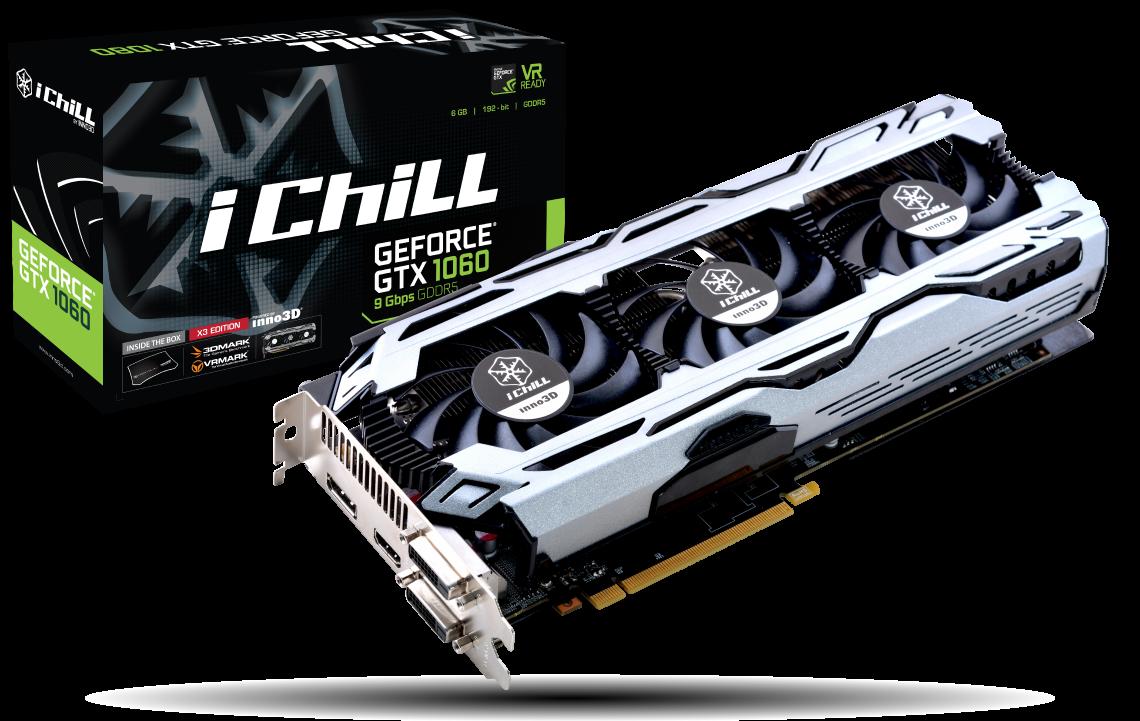 Wydajna i niedroga karta graficzna dla graczy: Inno3D GeForce GTX 1060 X3!