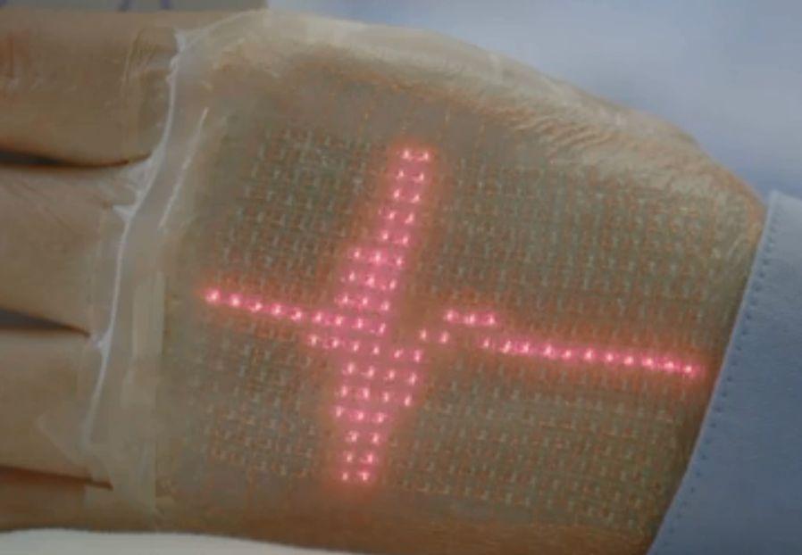 Powstaje elektroniczna skóra, która wyświetli nasze funkcje życiowe!