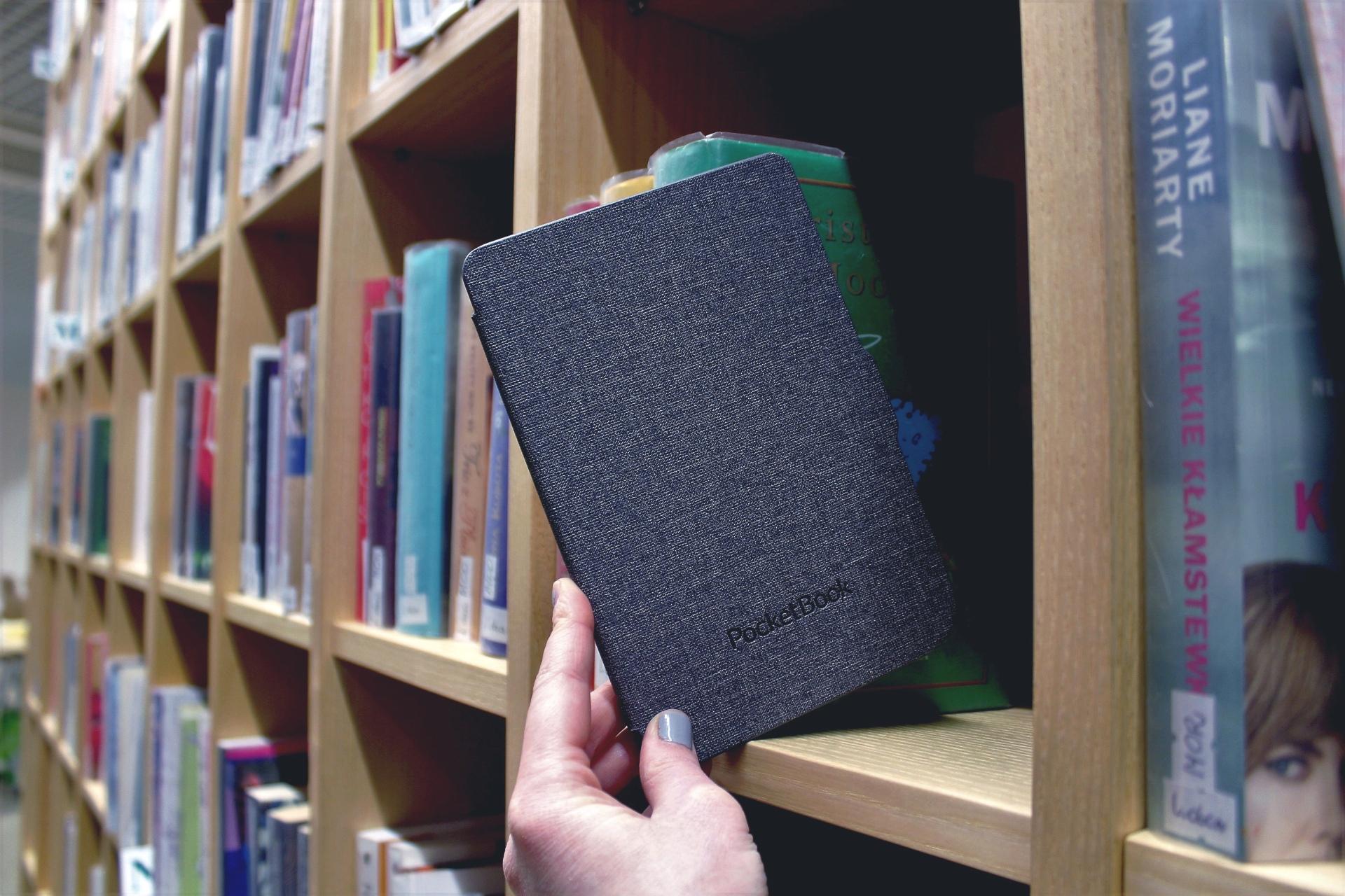Elektroniczne książki wkraczają do Biblioteki!