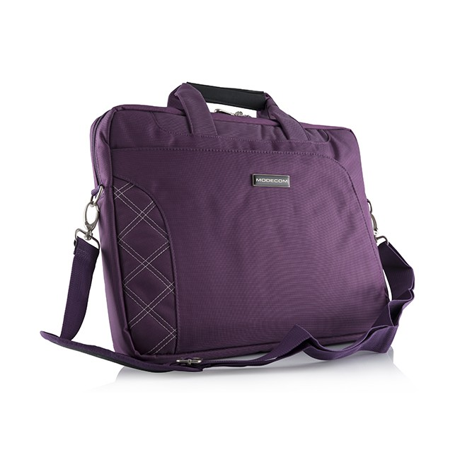 Torba do laptopa dla mamy MODECOM GREENWICH 15 PURPUROWA