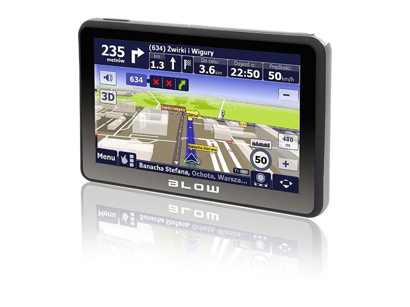 Nawigacja BLOW GPS590 SIROCCO cała EUROPA