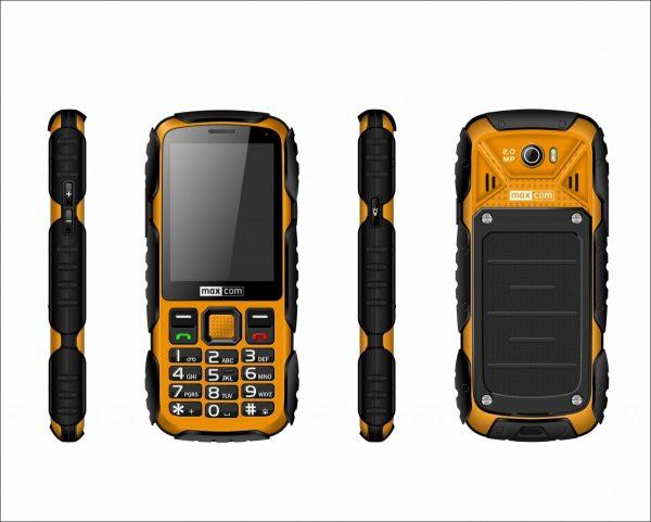 Telefon Maxcom MM 920 ŻÓŁTY STRONG IP67 dostępny w sklepie www.ale.pl