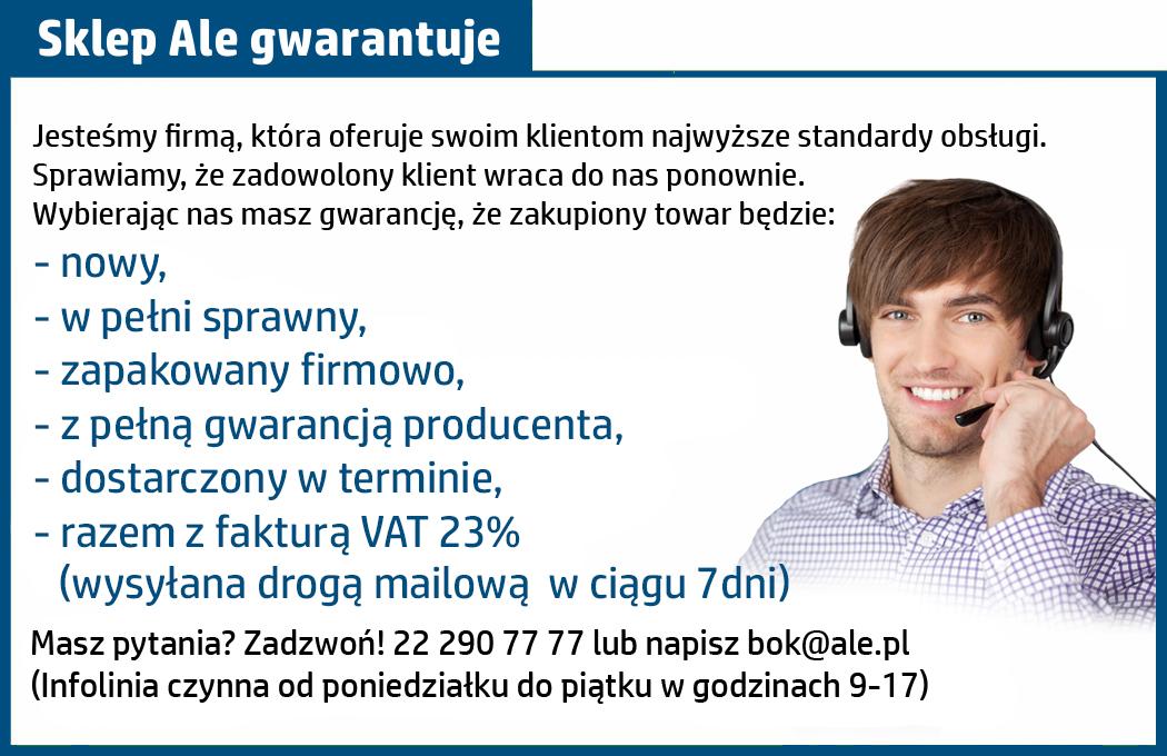 gwarancja na akcesoria od ale.pl