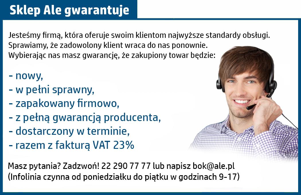 gwarancja na monitory od ale.pl
