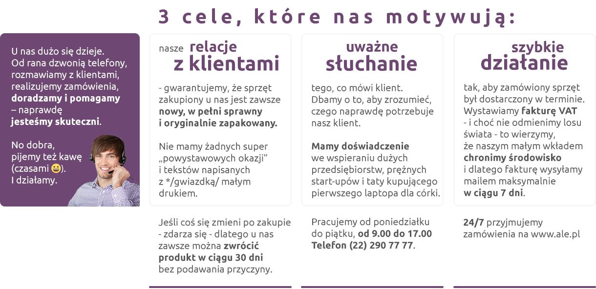 Gwarancja - sklep ale.pl