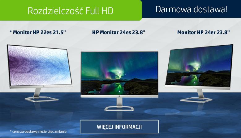 Biznesowe monitory HP