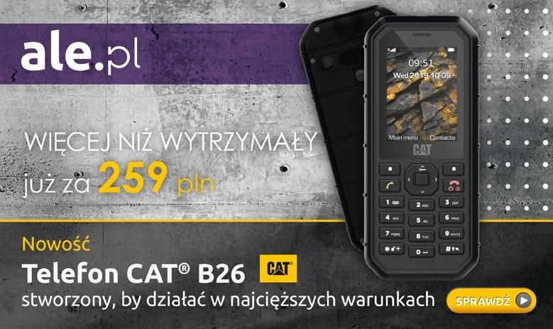 Telefon Cat B26 w sklepie ale.pl